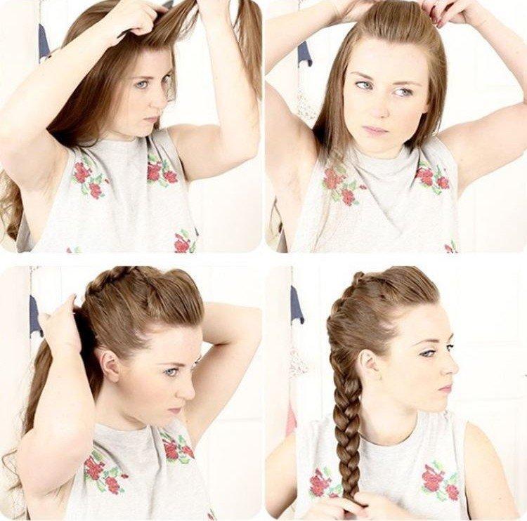 Простые прически для подростков в школу на средние и длинные волосы