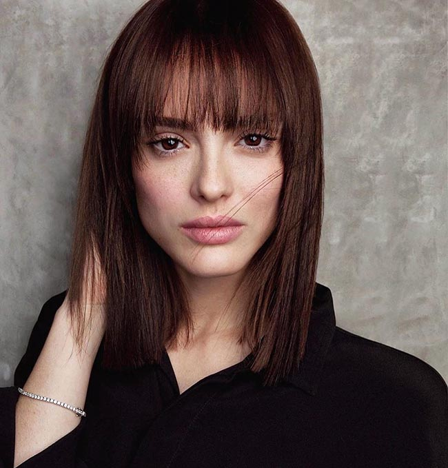 Женские стрижки на средние волосы 2021. Более 300 фото модных трендовых стрижек