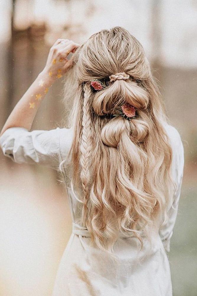 Прически для длинных волос на каждый день своими руками