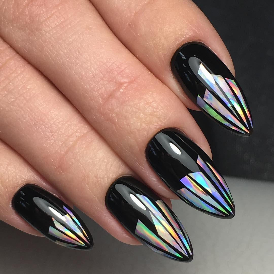 Фото идей маникюра на длинные ногти. Более 200 вариантов