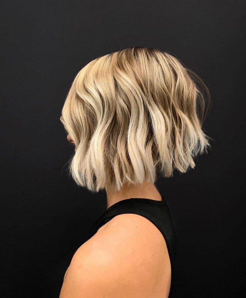 Прически на короткие волосы: 200 фото