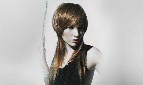 Стрижки с челкой: более 300 фото на короткие, средние и длинные волосы