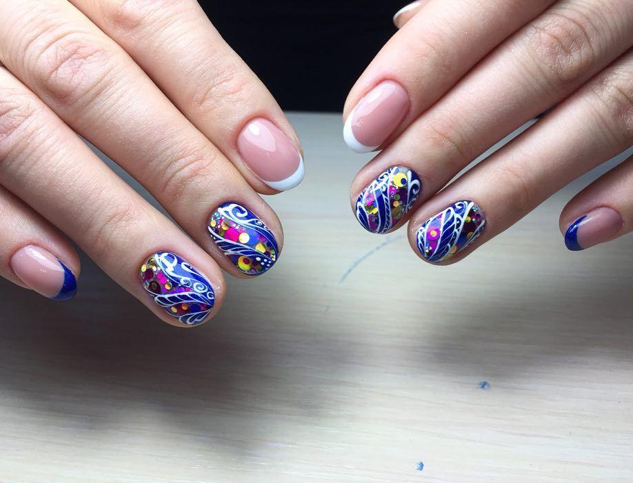 Идеи для маникюра в школу. 200 лучших фото новинок актуального модного дизайна ногтей