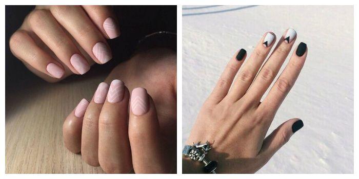 Маникюр на короткие ногти 2021. Фото новинки модных и красивых идей