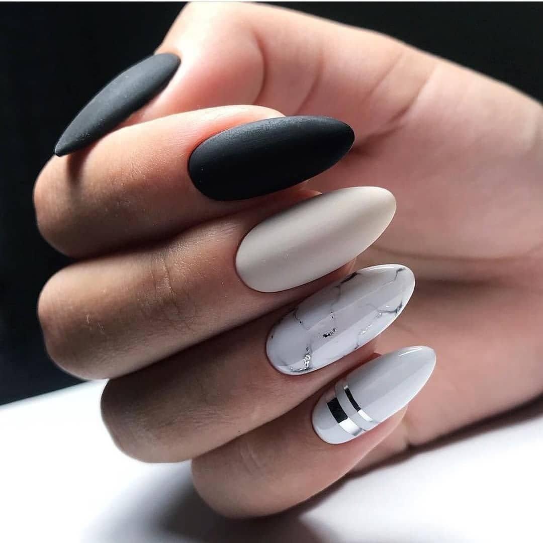 Маникюр на длинные ногти 2021: фото новых идей дизайна и техник выполнения
