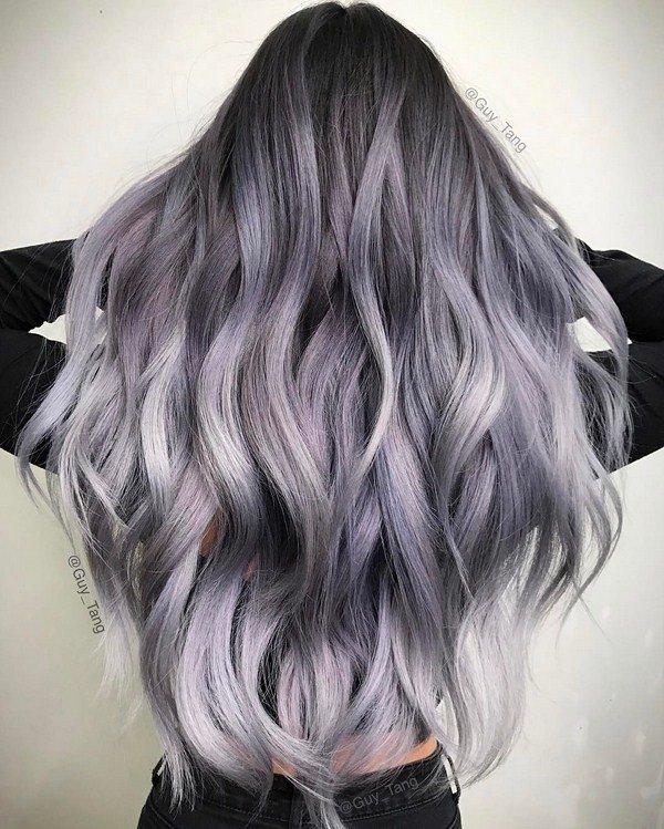 Модное окрашивание волос 2021: виды и техника с фото
