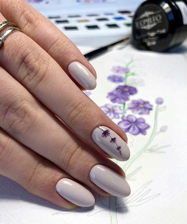 Модный дизайн ногтей 2021: более 280 фото новых идей и техник красивого маникюра