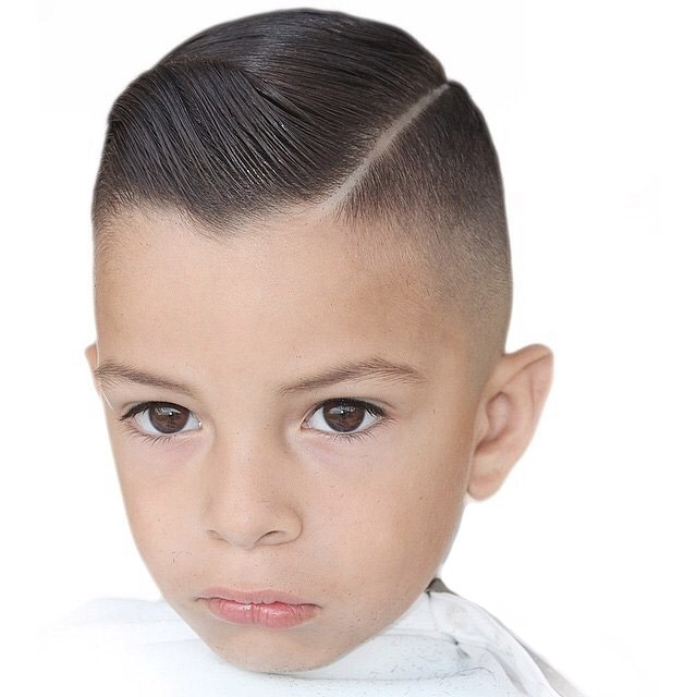 Модные стрижки для мальчиков от 3 до 14 лет