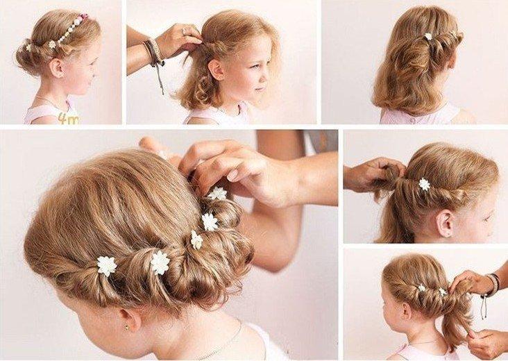 Прически для подростков в школу на короткие волосы самой себе с пошаговыми фото