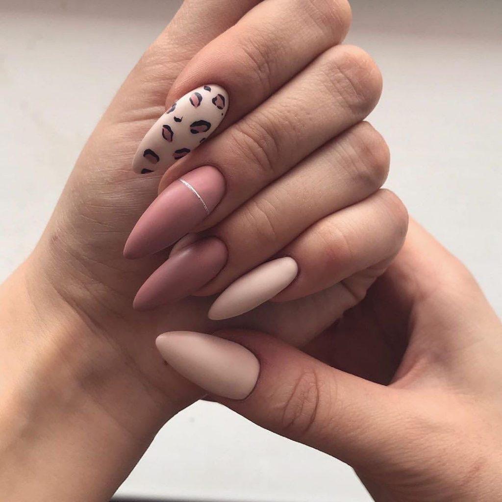 Модный маникюр с леопардовым принтом. 185 фото лучших идей на короткие и длинные ногти