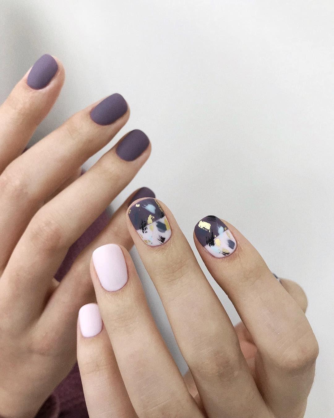Маникюр на очень короткие ногти 2021: идеи красивого и модного дизайна, более 200 фото