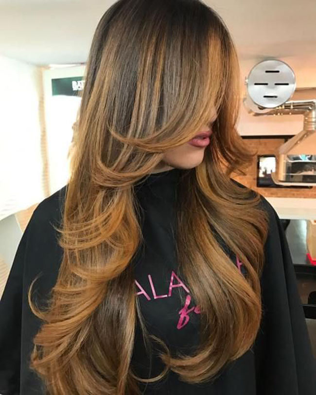 Стрижка каскад на длинные, средние и короткие волосы — фото и видео