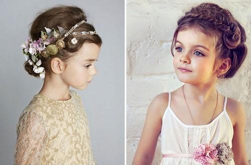 Прически для девочек. Более 200 фото модных и креативных вариантов