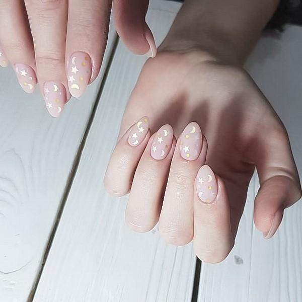 Маникюр зима 2021. Более 300 фото новинок модного дизайна ногтей